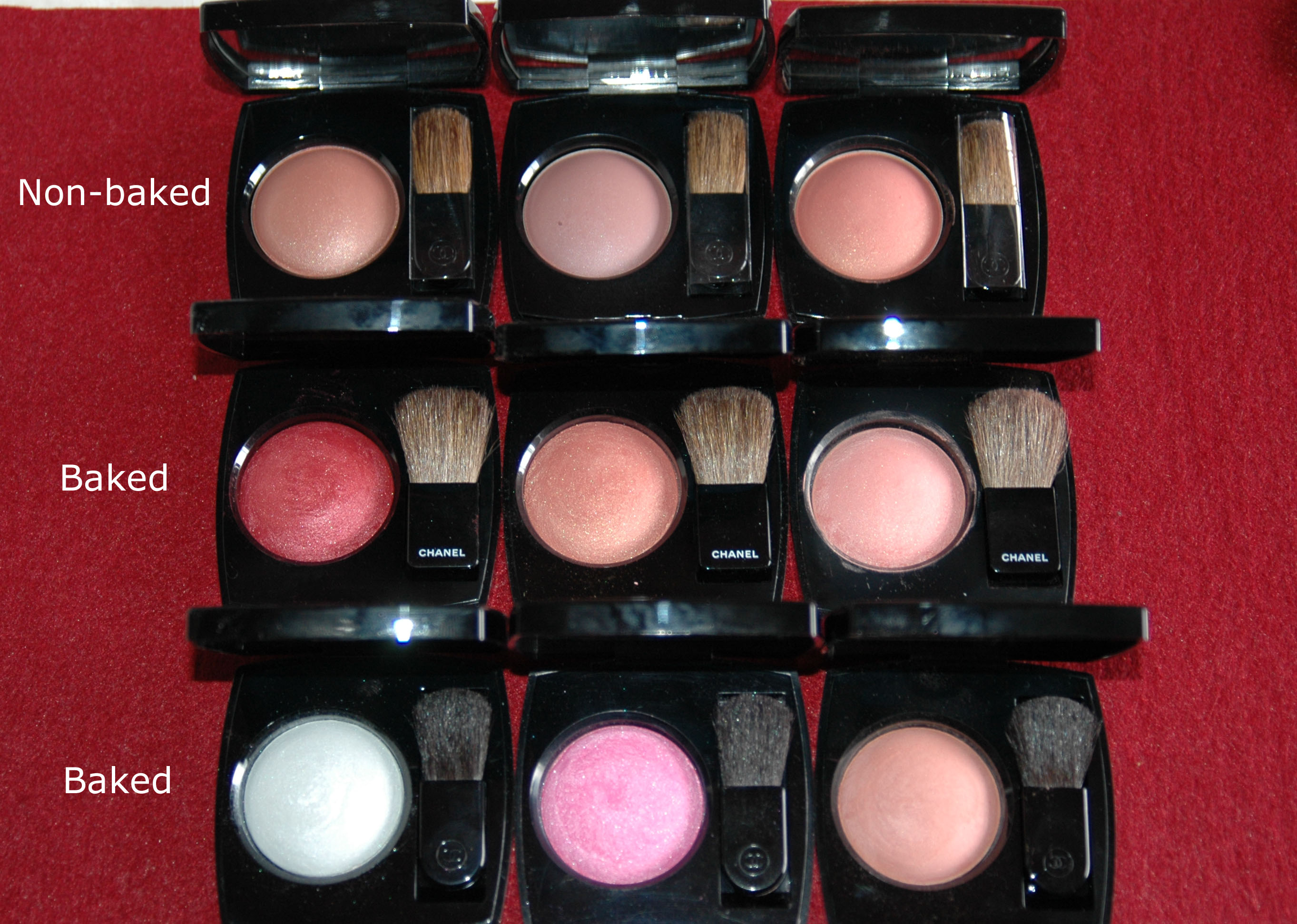 8cb69805f Chanel Les 4 Ombres eyeshadow quads and Joues Contraste blushes ...