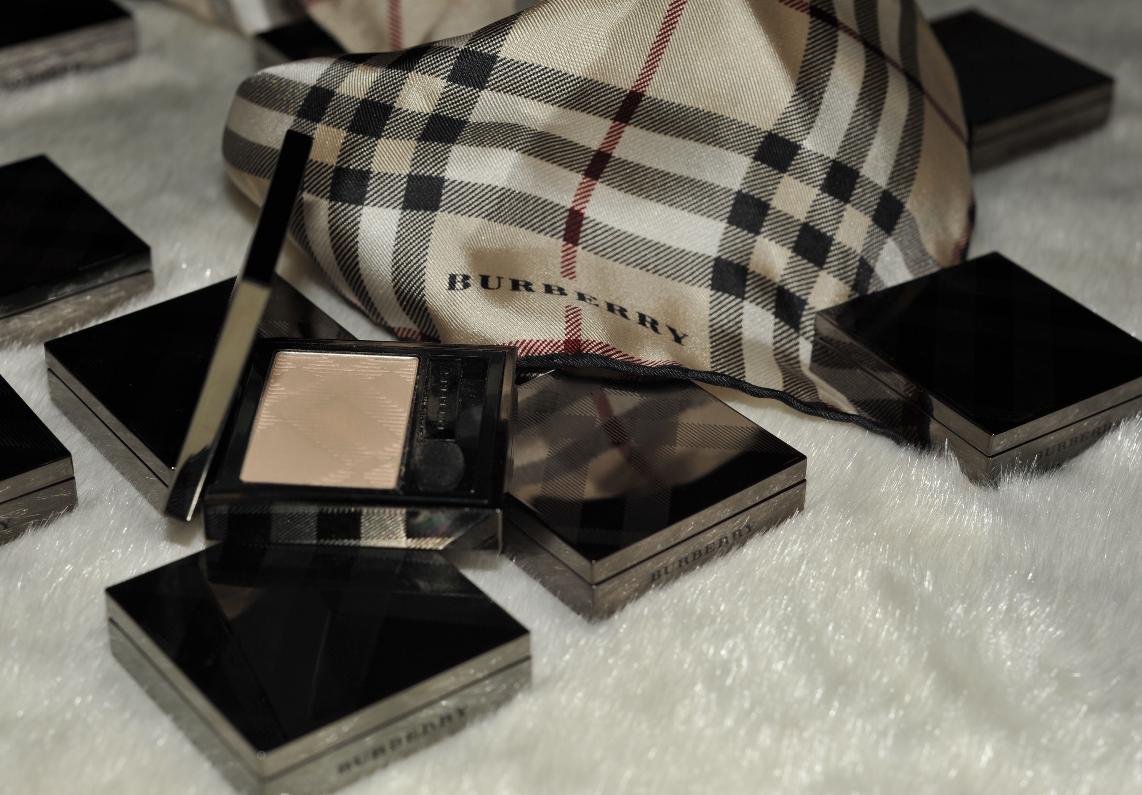 Burberry Eyeshadows Swatches And A
