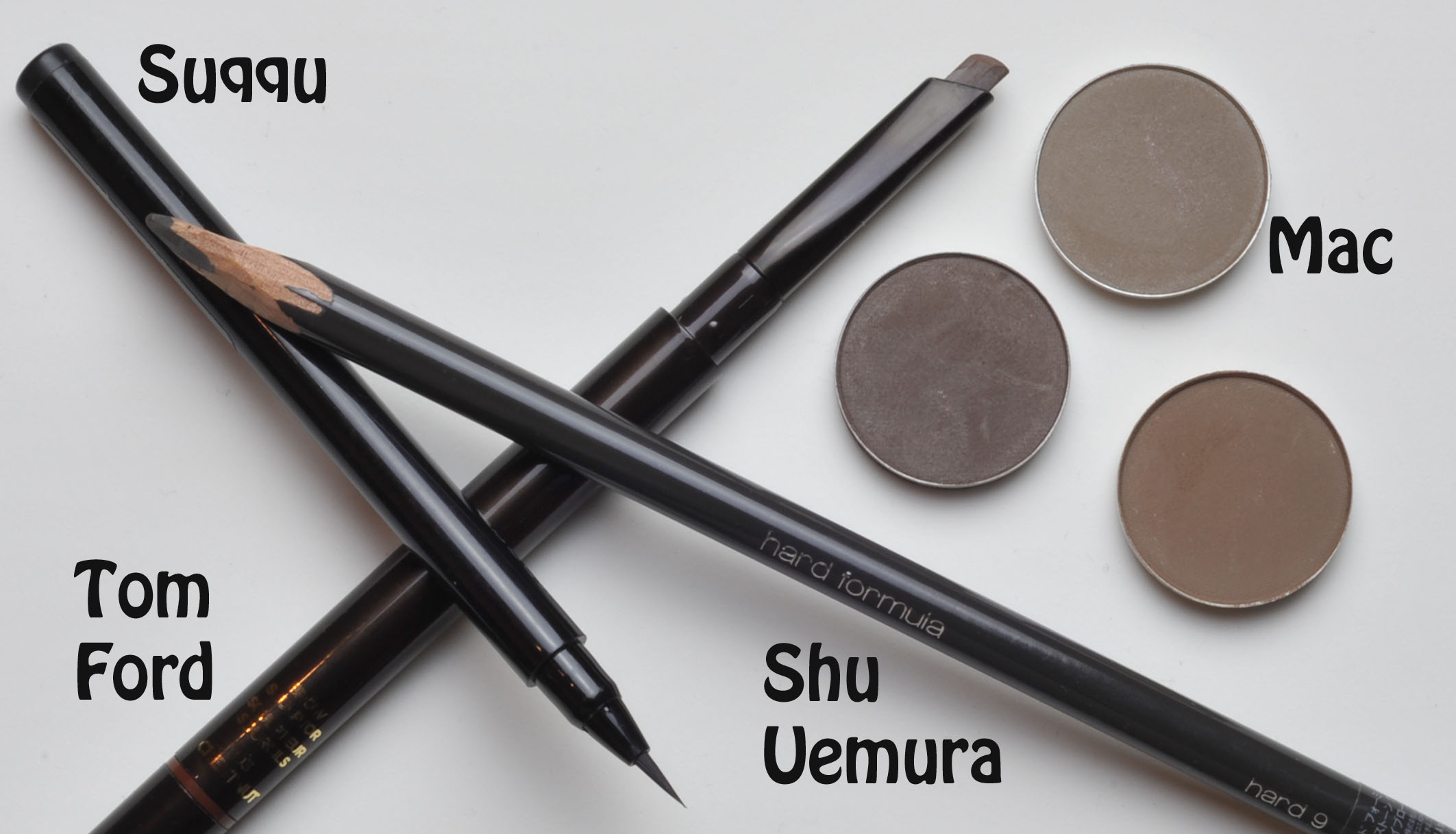 Eyebrows Focus On Tom Ford Suqqu Shu Uemura Sweet Makeup