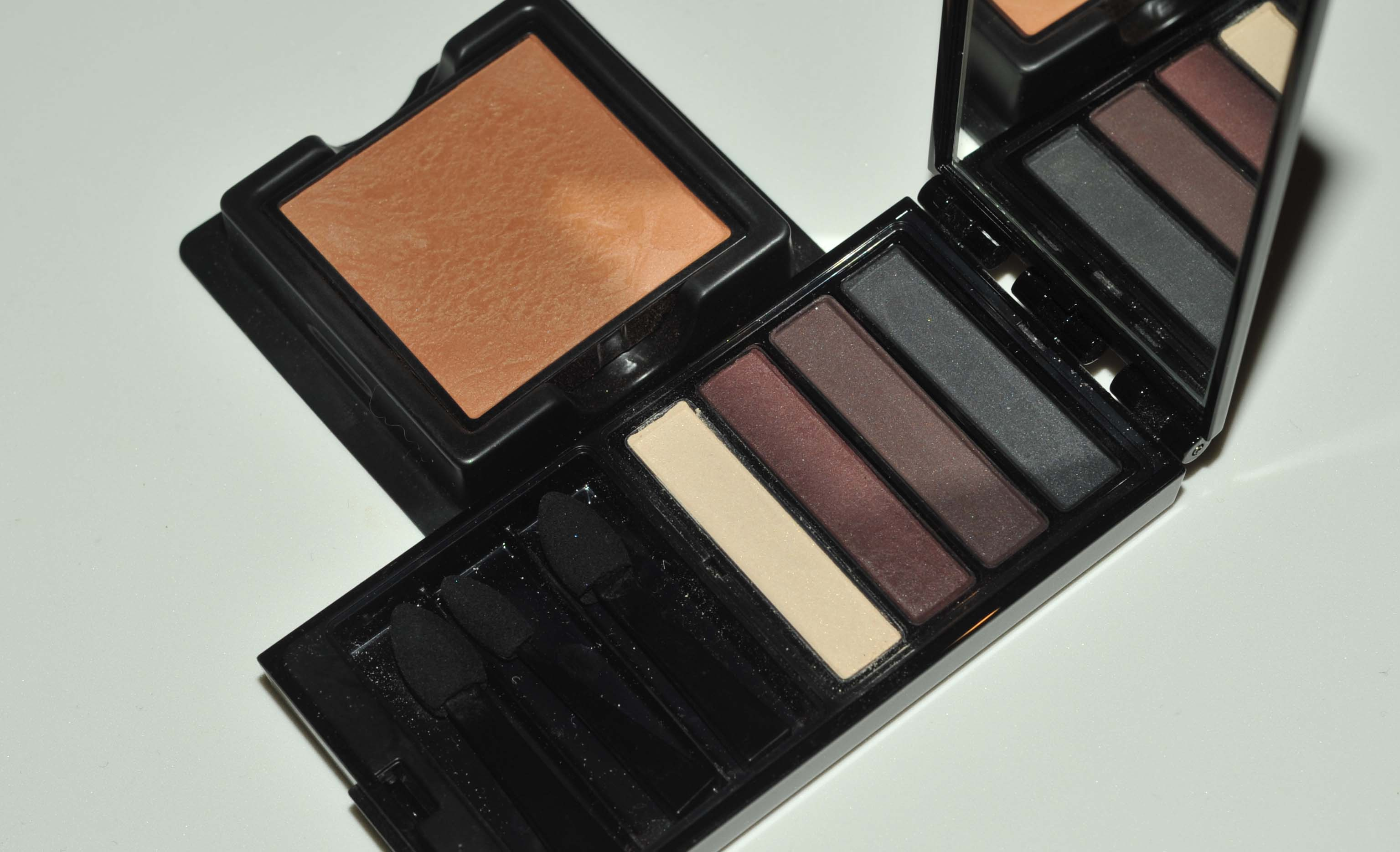 Serge Lutens Blusher And Eyeshadow Palette Sweet Makeup Temptations Inez Fine Line Eyeliner Black I Dont Even Know What Shade This Is On The Website Its Mentioned They Have 1 2 Looks More Like Number But Am