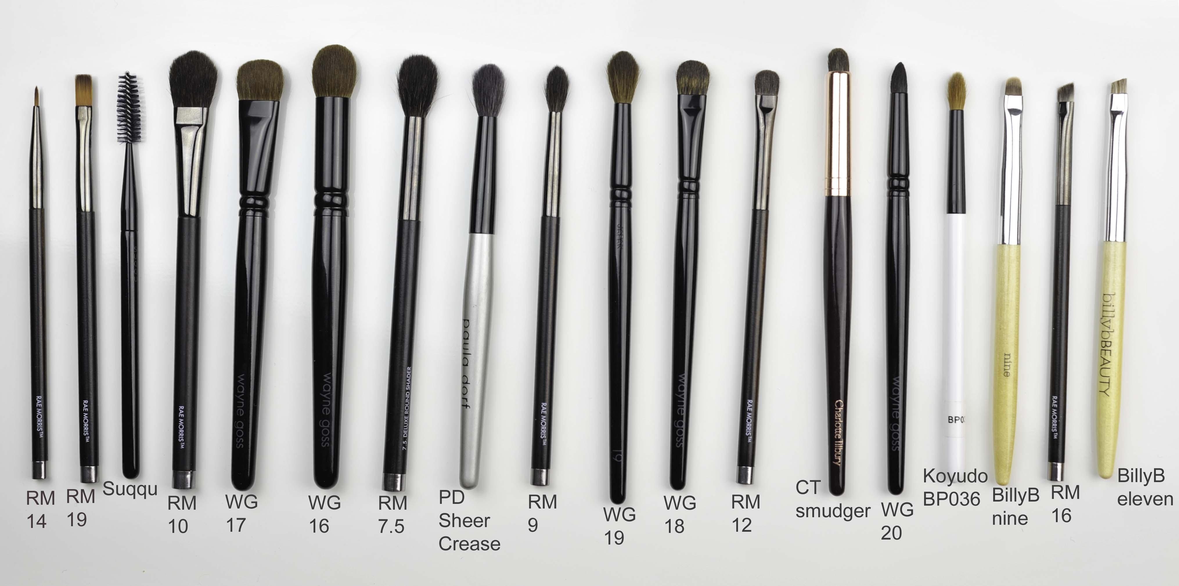 Brush picks for make-up artists – Sweet Makeup Temptations