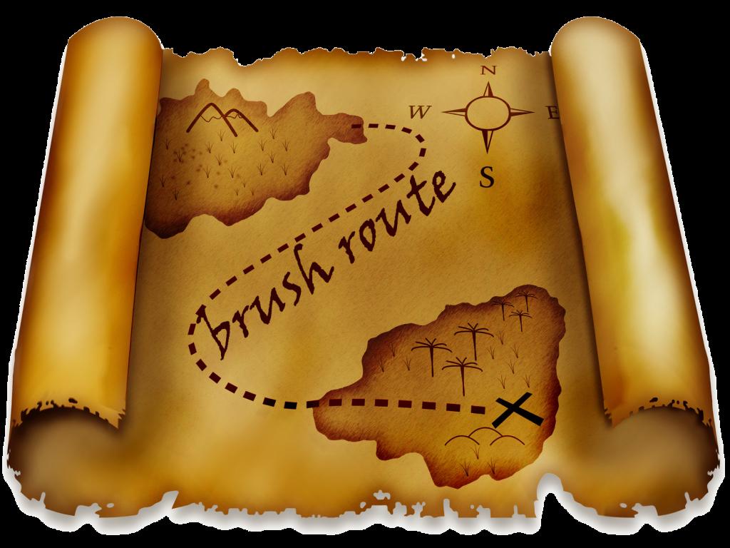 brushmap