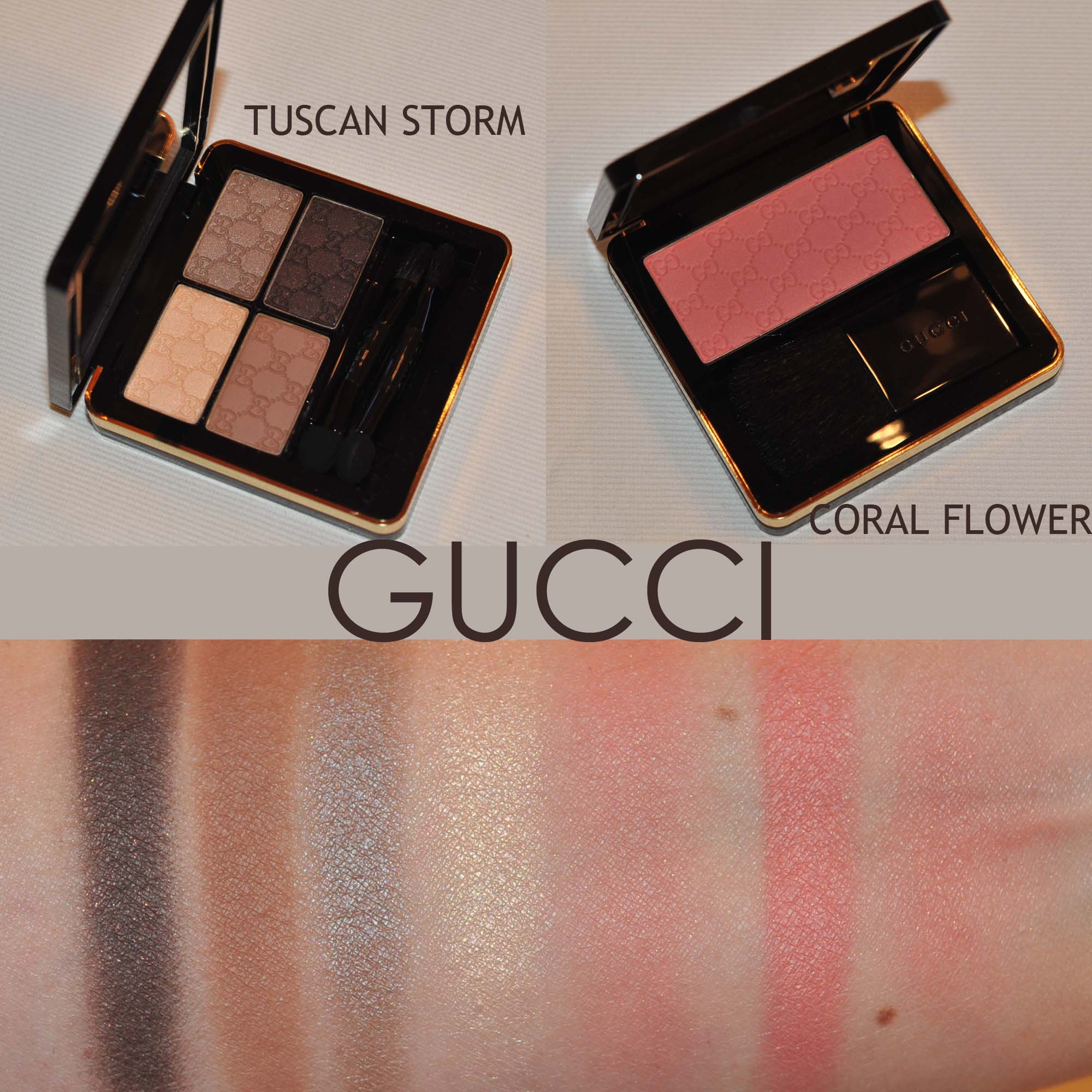 Gucci beauty first impressions on tuscan storm and coral flower gucci beauty first impressions on tuscan storm and coral flower izmirmasajfo