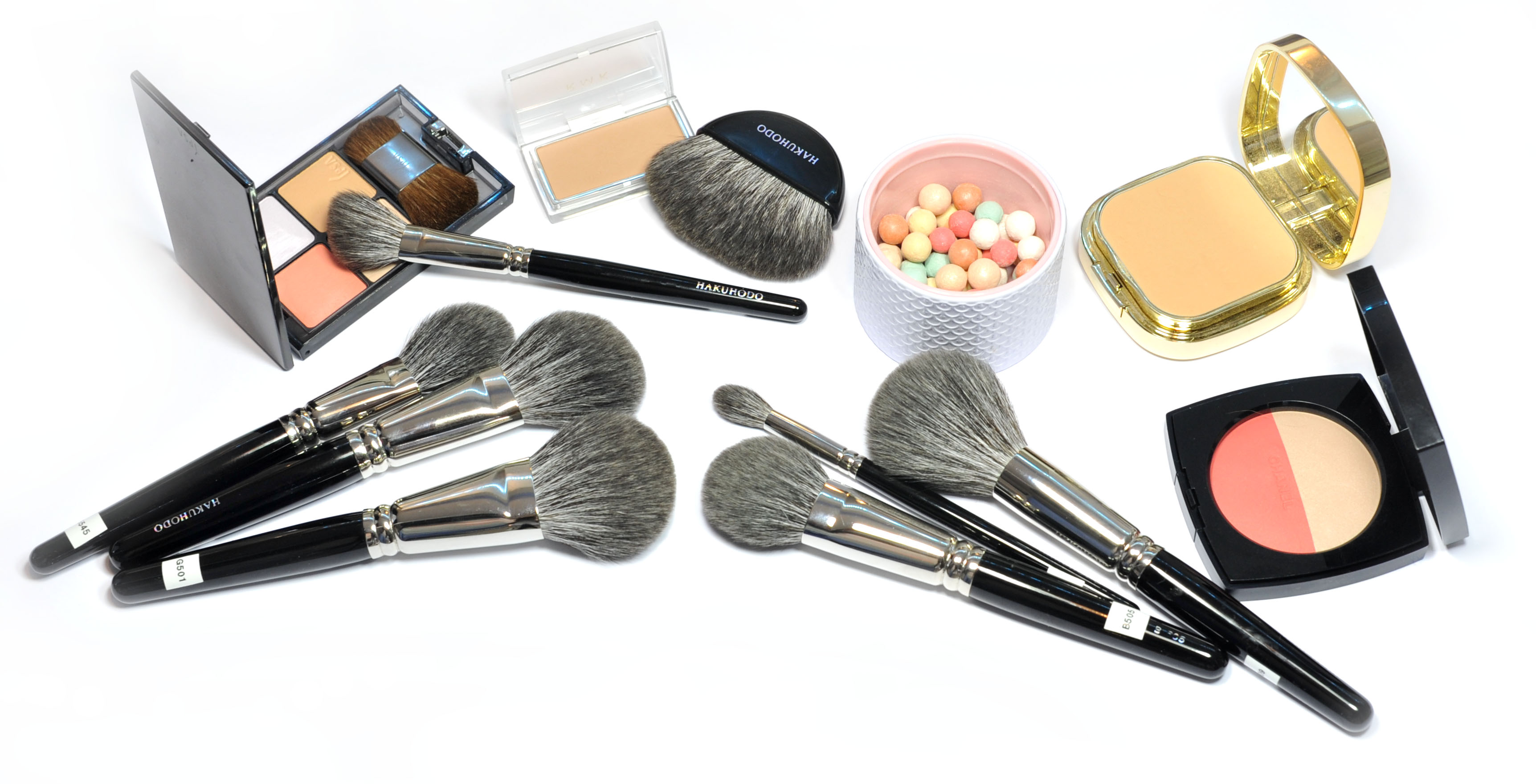 Brand New Brushes From Hakuhodo Sweet Makeup Temptations